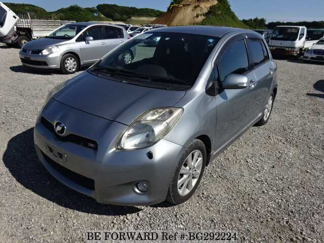 Used 2009 TOYOTA VITZ RS/DBA-SCP90 for Sale BG292224 - BE FORWARD