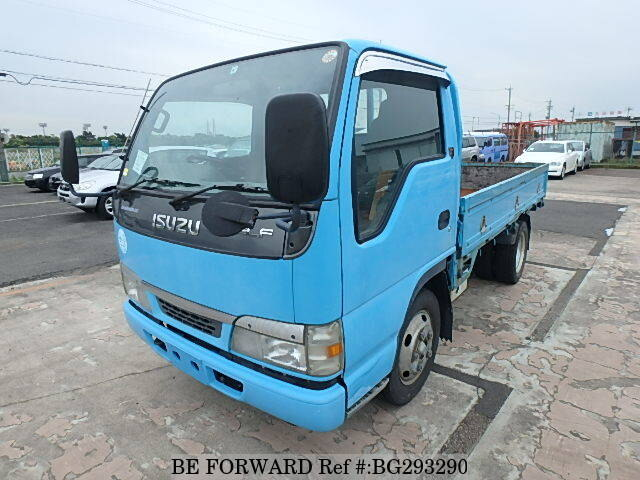 Used 2002 ISUZU ELF TRUCK/KR-NKR81EA for Sale BG293290 - BE FORWARD