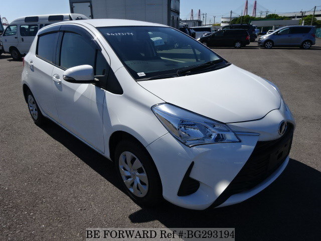 Used 2018 Toyota Vitz F Dba Ksp130 For Sale Bg293194 Be Forward