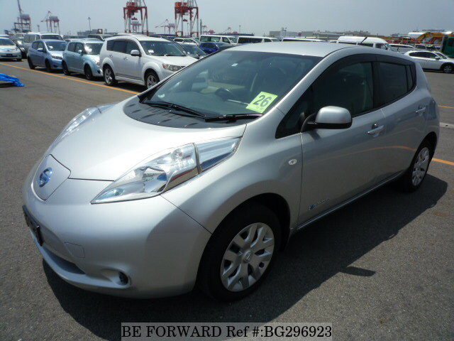Used 2014 NISSAN LEAF BG296923 for Sale
