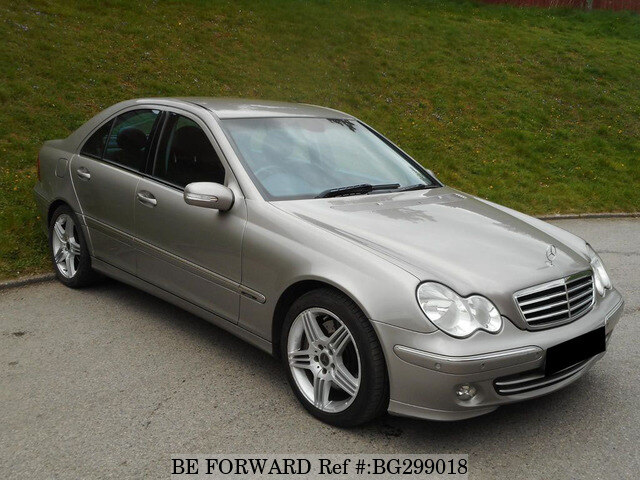 used 2004 mercedes benz c class automatic petrol for sale. Black Bedroom Furniture Sets. Home Design Ideas