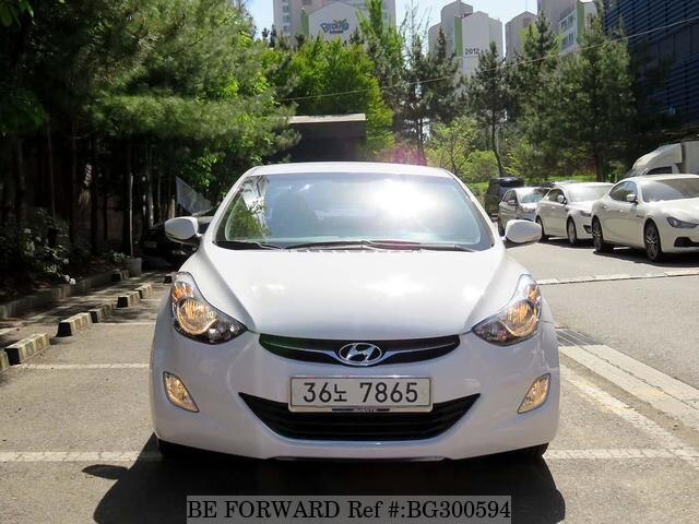 Used 2014 HYUNDAI AVANTE (ELANTRA) BG300594 for Sale