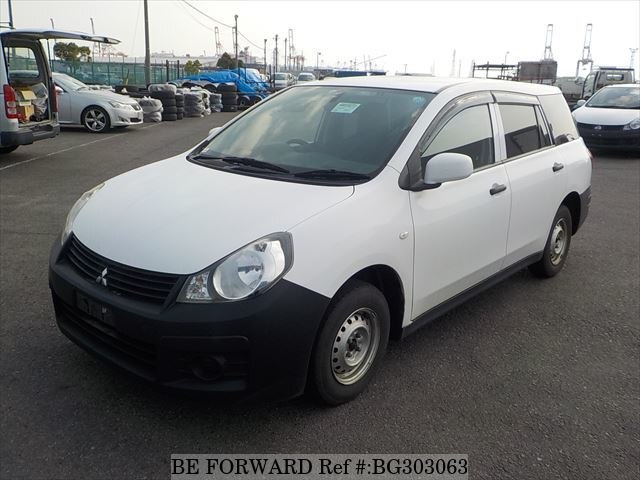Used 2014 MITSUBISHI LANCER CARGO BG303063 for Sale