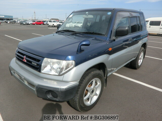 Used 1999 MITSUBISHI PAJERO IO BG306897 for Sale