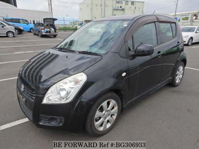 Used 2010 SUZUKI SPLASH BG306933 for Sale