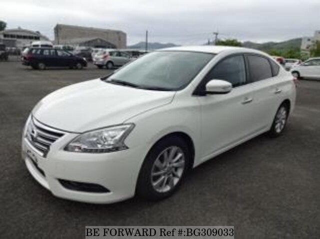 Used 2014 NISSAN SYLPHY BG309033 for Sale