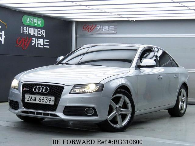 Used 2009 AUDI A4 BG310600 for Sale