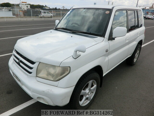 Used 2003 MITSUBISHI PAJERO IO BG314262 for Sale