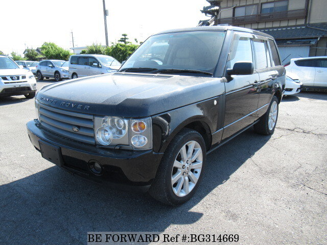 Used 2004 LAND ROVER RANGE ROVER VOGUE/GH-LM44 for Sale