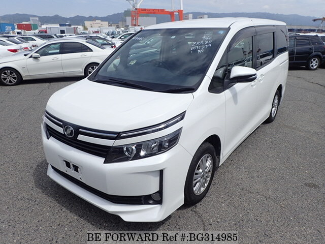 Used 2014 TOYOTA VOXY BG314985 for Sale