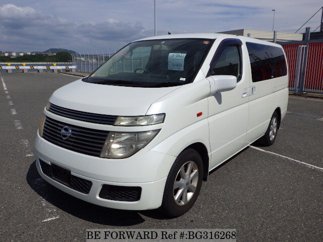 Used 2004 NISSAN ELGRAND BG316268 for Sale