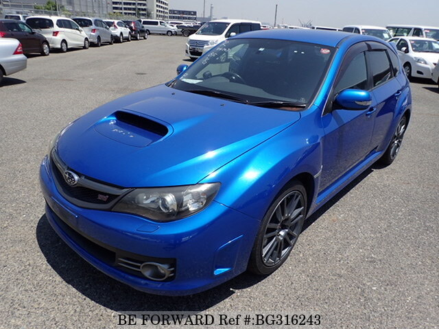 Used 2009 SUBARU IMPREZA WRX STI BG316243 for Sale