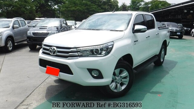 Used 2016 TOYOTA HILUX BG316593 for Sale