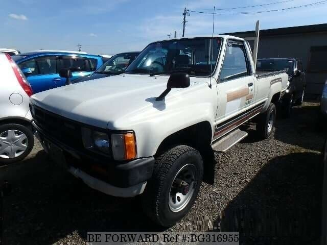 Used 1986 TOYOTA HILUX BG316955 for Sale