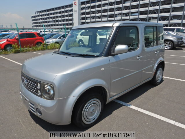 Used 2006 NISSAN CUBE BG317941 for Sale