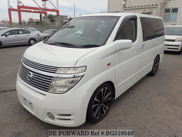 Used 2004 NISSAN ELGRAND BG319549 for Sale