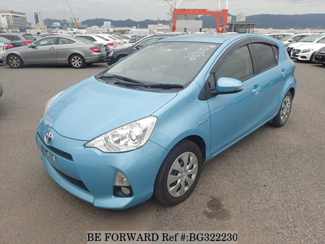 Used 2014 TOYOTA AQUA BG322230 for Sale