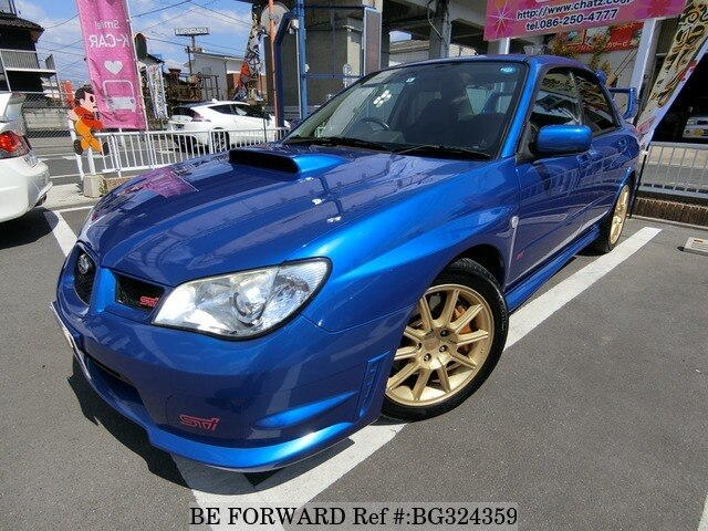Used Subaru Wrx Sti For Sale >> 2006 Subaru Impreza Wrx Sti