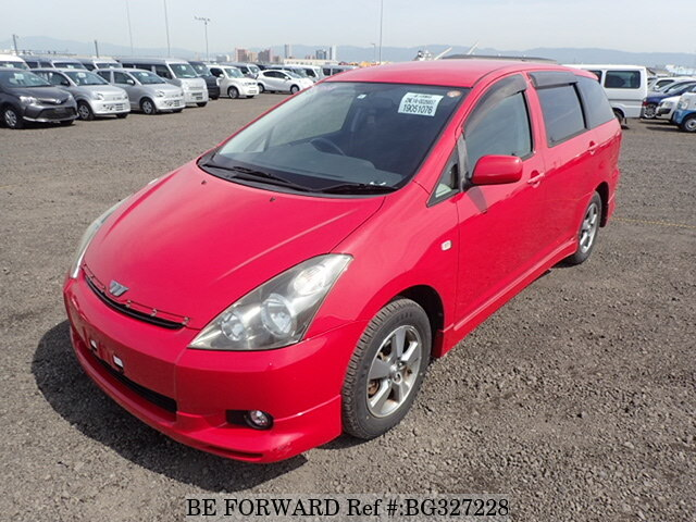 Used 2004 TOYOTA WISH BG327228 for Sale