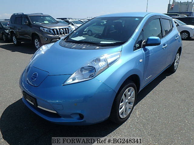 Used 2014 NISSAN LEAF BG248341 for Sale