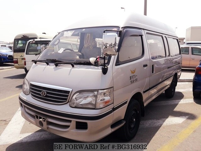 Used 2002 TOYOTA HIACE COMMUTER BG316932 for Sale