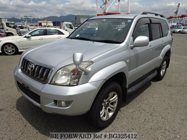 Used 2008 TOYOTA LAND CRUISER PRADO BG325412 for Sale