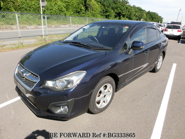 Used 2012 SUBARU IMPREZA G4 BG333865 for Sale