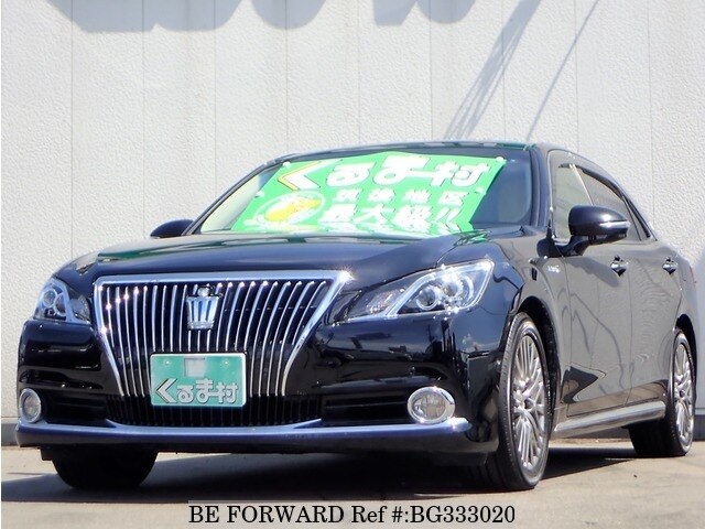Used 2014 TOYOTA CROWN MAJESTA BG333020 for Sale