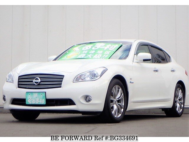 Used 2013 NISSAN FUGA HYBRID BG334691 for Sale