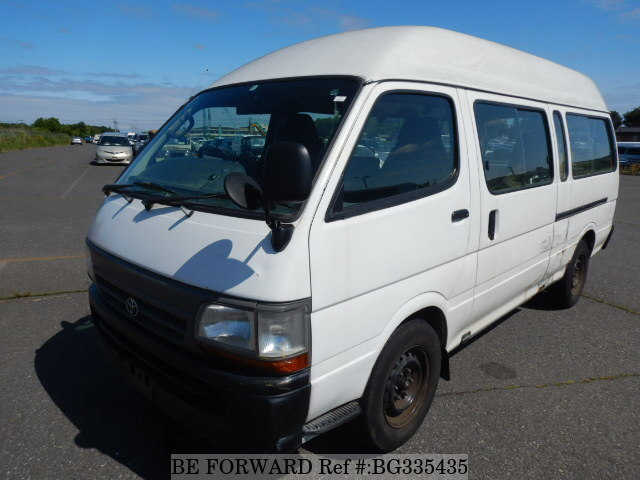 Used 2002 TOYOTA HIACE COMMUTER BG335435 for Sale