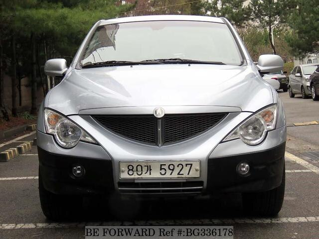 Used 2009 SSANGYONG ACTYON BG336178 for Sale