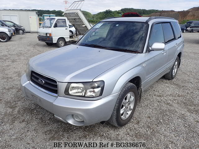 Used 2002 SUBARU FORESTER BG336676 for Sale
