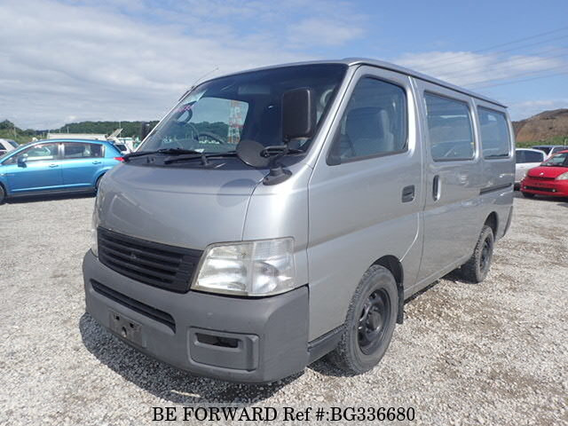 Used 2002 NISSAN CARAVAN VAN BG336680 for Sale