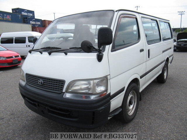 Used 1998 TOYOTA HIACE WAGON BG337027 for Sale