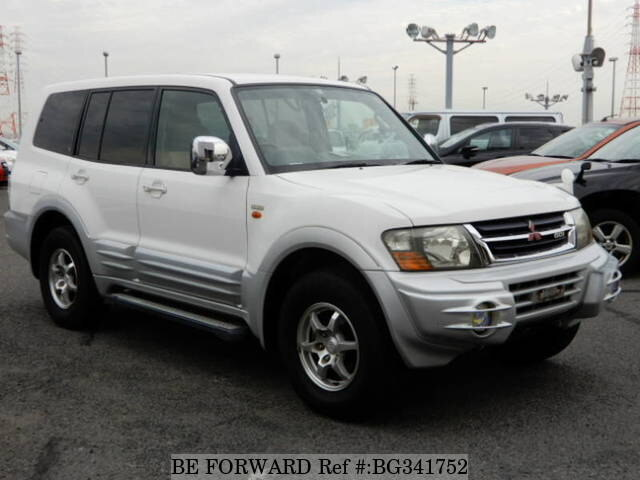 Used 1999 MITSUBISHI PAJERO BG341752 for Sale