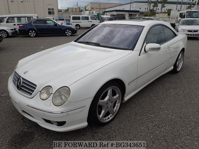 Used 2000 MERCEDES-BENZ CL-CLASS BG343651 for Sale