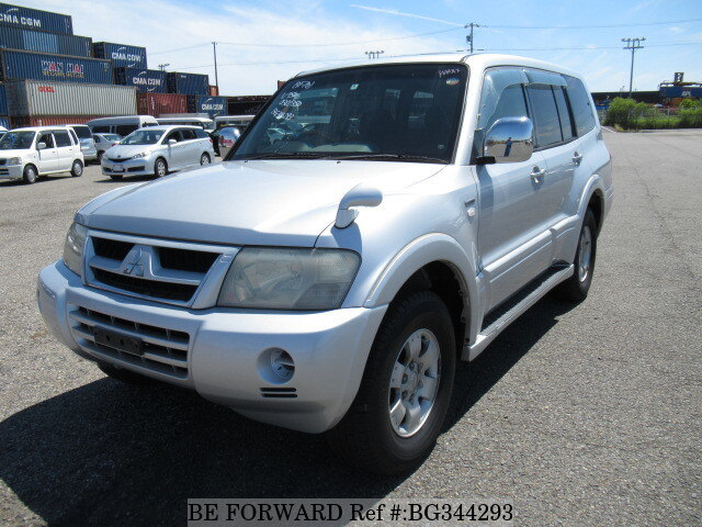 Used 2002 MITSUBISHI PAJERO BG344293 for Sale