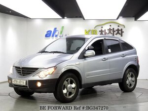 Used 2006 SSANGYONG ACTYON BG347270 for Sale