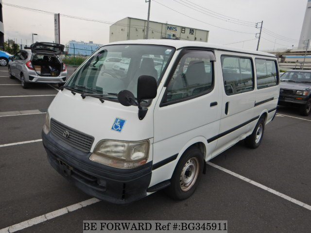 Used 1998 TOYOTA HIACE WAGON BG345911 for Sale