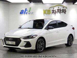 Used 2017 HYUNDAI AVANTE (ELANTRA) BG347674 for Sale
