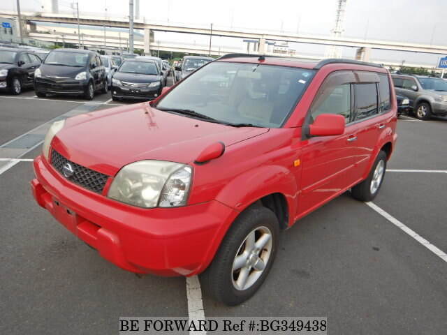 Used 2000 NISSAN X-TRAIL BG349438 for Sale