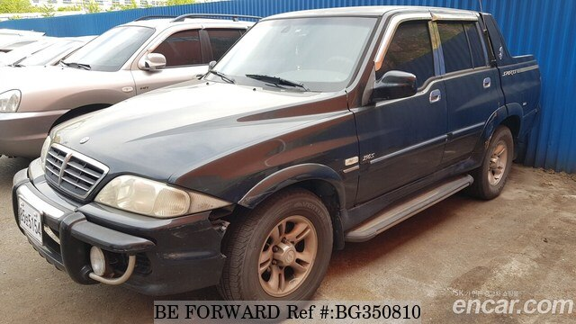 Used 2003 SSANGYONG MUSSO BG350810 for Sale