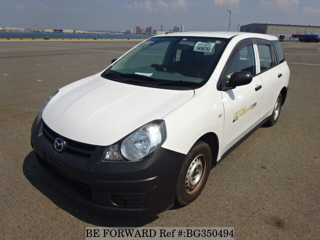 Used 2008 MAZDA FAMILIA VAN BG350494 for Sale
