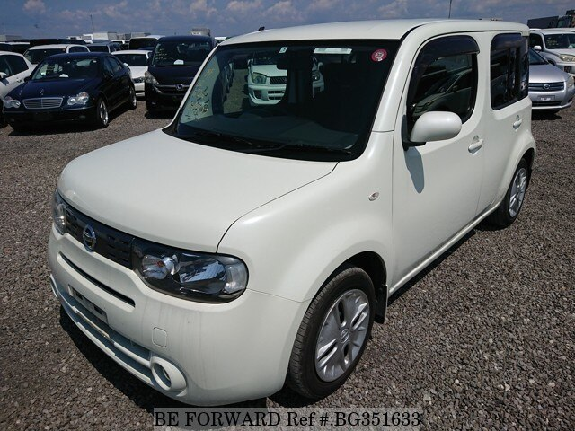 Used 2009 NISSAN CUBE BG351633 for Sale