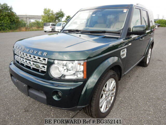 Used 2012 LAND ROVER DISCOVERY 4 SE/ABA-LA5N for Sale BG352141 - BE