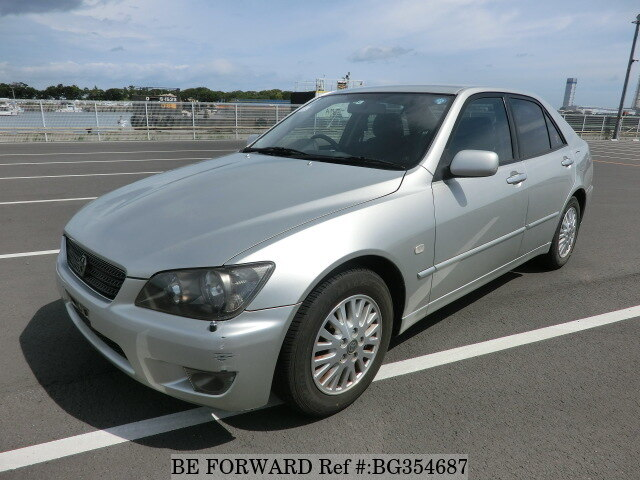 Used 2004 TOYOTA ALTEZZA BG354687 for Sale
