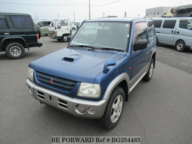 Used 1999 MITSUBISHI PAJERO MINI BG354485 for Sale