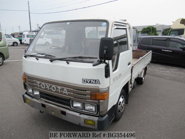 Used 1990 TOYOTA DYNA TRUCK BG354496 for Sale