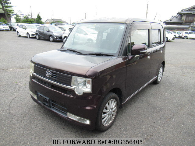 Used 2009 DAIHATSU MOVE CONTE BG356405 for Sale