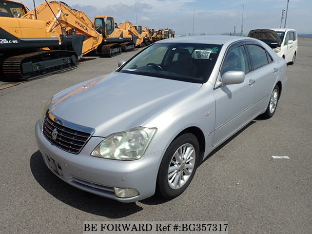 Used 2005 TOYOTA CROWN BG357317 for Sale